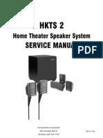 Harman Kardon HKTS-2 Service Manual