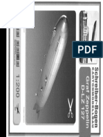 [Paper Model]-[Schreiber Bogen] - Airship D-Lz 127 Graf Zeppelin