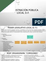Administración Local, Entidades Federativas y Municipales