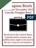 Jury Nullification Brief