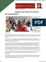 03-11-15 Realizan Antidoping a Personal de Secretaría Del Ayuntamiento