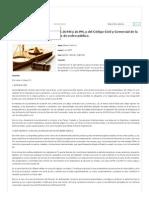 Inconstitucionalidad de Las Leyes 26.944 y 26.994,