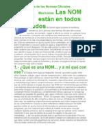 La Importancia de Las Normas Oficiales Mexicanas