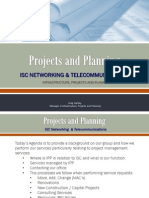 Telecoms Construction Projects and Planning