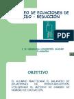Oxido reducción (HCST)