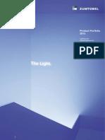 Product Portfolio 2013
