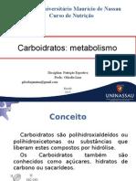 4 Aula de Metabolismo de CHO