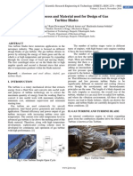Review of Process and Material used for Design of Gas  Turbine Blades