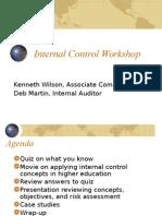 Internal Control Presentation March 2010