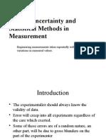 Statistical Methods in Measurement