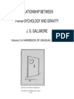Gallimore - Relationship Between Parapsychology and Gravity