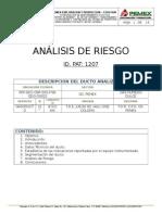 Formato Para Analisis de Riesgo
