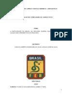 A Participação Do Brasil Na Segunda Guerra Mundial - Um Novo Olhar Sob a Perspectiva Do Pracinha