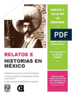 Revista Relatos e Historias en Mexico