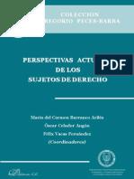 Perspectivas Actuales de Los Sujetos de Derecho