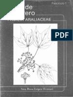 Flora de Guerrero, Familia Araliaceae_A. R. López Ferrari