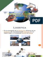 Importacia de La Logistica