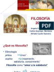 Semana 01 - Fiosofía