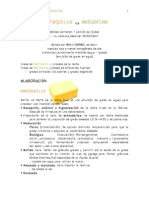 Mantequilla vs Margarina