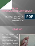 Sindrome Hiperlaxitud Articular