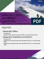 Desarrollo Office SharePoint
