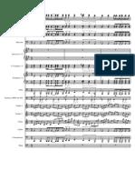 Song From Paris WIP-Partitura y Partes