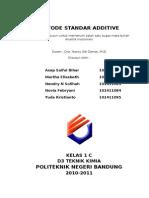 Metode Standar Additive