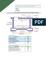 4. Diseño de Reservorio Rectangular 10 m3