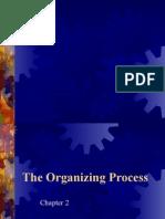 The Organizing Process