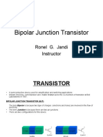 BJT Fundamentals by Ronel Jandi