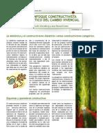 Reporte de Lectura. Un Enfoque Constructivista Dialéctico Del Cambio Vivencial