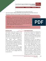MALIGNANT GASTROINTESTINAL STROMAL TUMOUR WITH METASTASIS