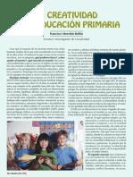 1 Parte - La Creatividad en La Educación Primaria