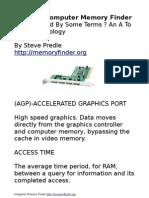 Computer Memory Finder