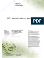 1001 Years of Missing Martial Arts