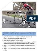 Forces and Motion PPT