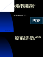 Tumours of the Lung and Mediastinum-Adegboye