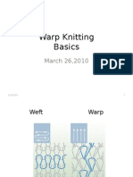 Warp Knitting Basics