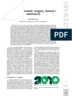 JDRoss, Biodiversitat amenaces