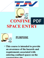 Confined Space Entry QGII