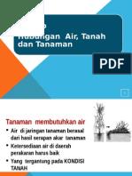 Bab 3b Hubungan Air Dan Tanama