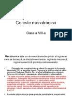 Ce Este Mecatronica