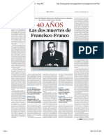 Francisco Franco. 40 Años