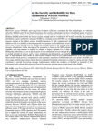 Enhancing the Security and Reliability for Data  Transmission in Wireless Networks