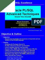Advanced Techniques of PL/SQL