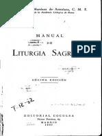 Antoñana-Manual de Liturgia Sagrada -1957