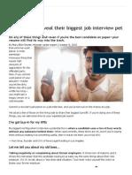 Recruiters Pet Peeves _ Monster