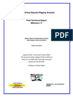 FY10 Rigging Analysis Final Report