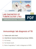 Immunological Lab Diagnosis of Tuberculosis