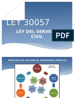 Ley de Servicio Civil 30057
